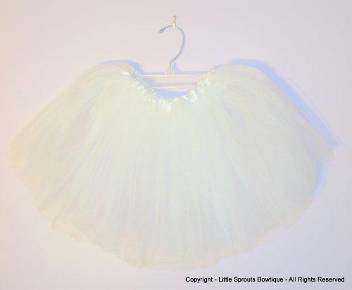 Basic Ballet Tutu - 3 Layers of Tulle - White