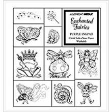 All Night Media Foam Mounted Stamp Set Collections - Enchanted Fairies