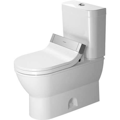 - Duravit Darling New Elongated Two Piece Toilet D2101100 White