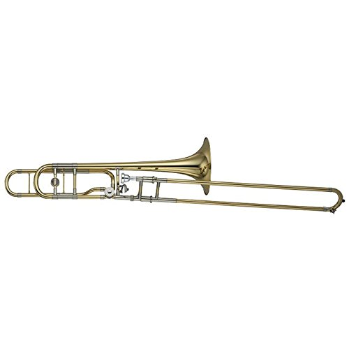 Yamaha YSL-882O Xeno Series F-Attachment Trombone Lacquer Yellow Brass Bell by Yamaha