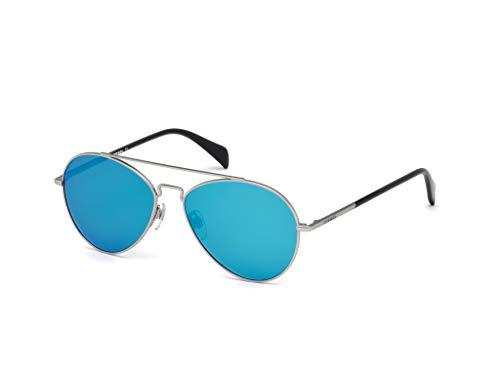 Diesel Dl0193 Aviator Sunglasses, Palladium, 56 mm (Sonnenbrille Trendy)
