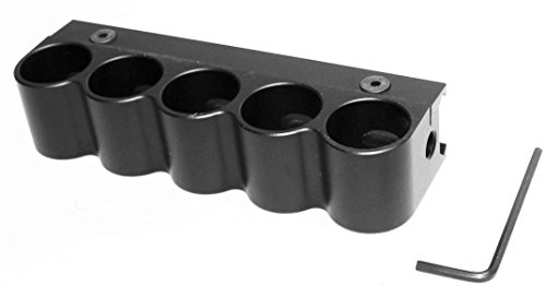 Trinity Rail - Trinity Universal 5 Round Remington 870 Pump Shell Holder,Weaver Mount.