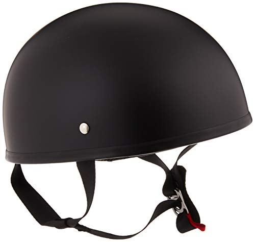 (LS2 Helmets Stripper Unisex-Adult Half Helmet Motorcycle Helmet (Matte Black, Medium))