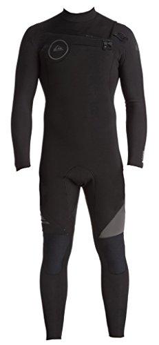 ba8952686a Quiksilver 3 2mm Syncro Series Chest Zip GBS Men s Wetsuits -  Black Black Jet Black Large Short