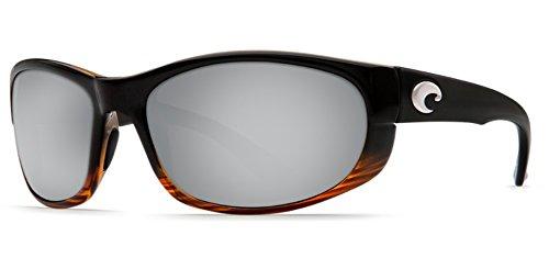 Costa Del Mar Howler 580P Howler, Coconut Fade Silver Mirror, Silver - Costa Howler 580p