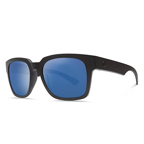 Electric Visual Zombie S Matte Black/OHM+Polarized Blue Sunglasses by Electric