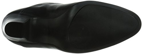 Nine West Women's Quarrel Leather Boot Black/Black AY9BWA0YMJ