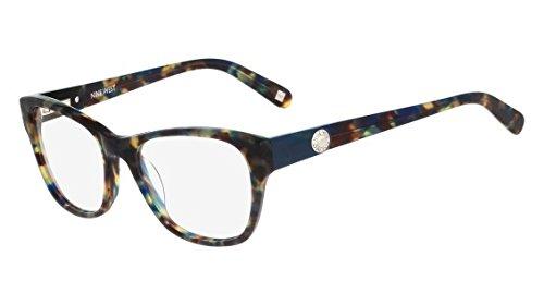 Nine West Eyeglasses NW5080 322 Teal Tortoise 50 17