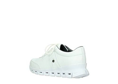 Wolky Comfort Comfort Cuir Nano Blanc Baskets Wolky 20100 Oq8PnOFz