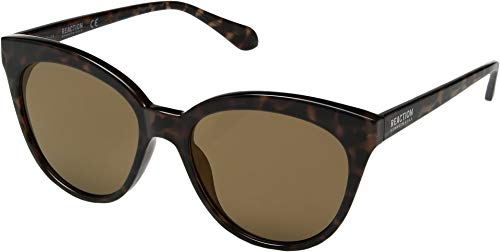 Kenneth Cole Reaction Unisex KC2878 Dark Havana/Brown Mirror One Size
