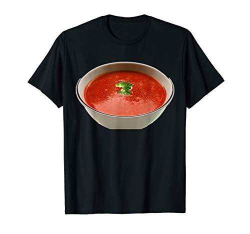 Bowl of Tomato Soup Comfort Food T-Shirt (Costume Soup Tomato)