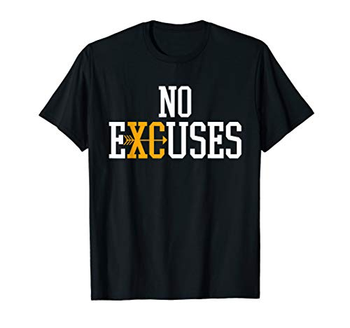 (No Excuses Cross Country Track And Field Running)