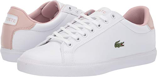 Lacoste Women's Grad Vulc 119 2 P SFA White/Light Pink 10 M US