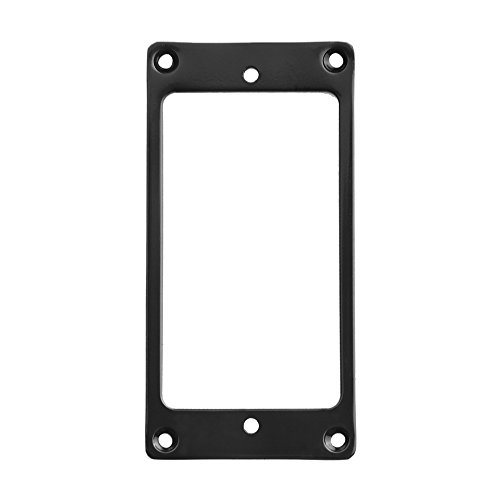 Kmise Z4519 1 Piece Flat Metal Humbucker Pickup Mounting Ring, -