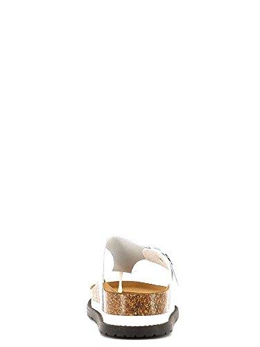 Fornarina Rea - Sandalias de dedo Mujer Blanco