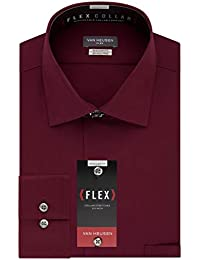 875d0aff8de Men s Dress Shirt Flex Regular Fit Solid