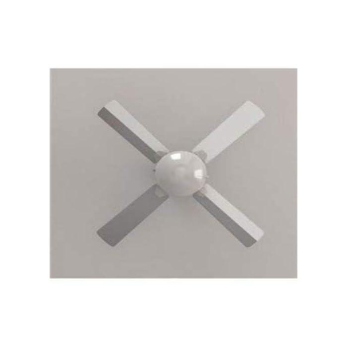 316tMJVZiFL ForceSilence Technology: consigue una profunda sensación de aire fresco al instante con el máximo silencio y confort. AeroBlades: sistema formado por 4 aspas totalmente innovadoras, aerodinámicas y de gran diámetro, diseñadas para maximizar el flujo de aire y garantizar un caudal constante de aire fresco. Cool&Heat System: el ventilador dispone de función verano/invierno. Mediante un conmutador se selecciona el ángulo de incidencia del flujo de aire, hacia abajo en verano para generar una agradable brisa y hacia arriba en invierno para impulsar el aire caliente concentrado en el techo hacia el suelo. AirFlow Advance: tecnología capaz de generar un ambiente totalmente fresco de la forma más eficiente y con el mínimo consumo. DoubleSystem 2-in-1: el ventilador integra una lámpara que lo convierte en un práctico equipo híbrido. Ilumina tu hogar y consigue un ambiente perfecto de la forma más eficaz y asequible. 3Speed Function: podrás elegir entre 3 velocidades de funcionamiento (baja-Noche, media-Eco y alta-Turbo) para adecuar la intensidad del caudal de aire a tus necesidades. PowerWind: gran potencia de 50 W, con motor de alto rendimiento que aumenta el caudal de aire y la sensación de frescor.