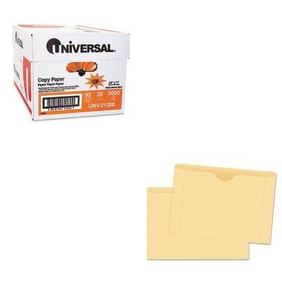 KITQUA89654UNV21200 - Value Kit - Quality Park File Jackets (QUA89654) and Universal Copy Paper (UNV21200)