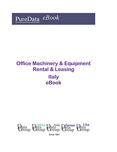 Office Machinery & Equipment Rental & Leasing in Italy: Product Revenues