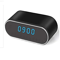 SandS Hidden Spy Camera Nanny Clock with a Free SandS 32GB Card | iPhone, Android and Windows Supported | Runs Independently, on WIFI or IP | Multi-purpose | IR Night Vision | Motion Sensor