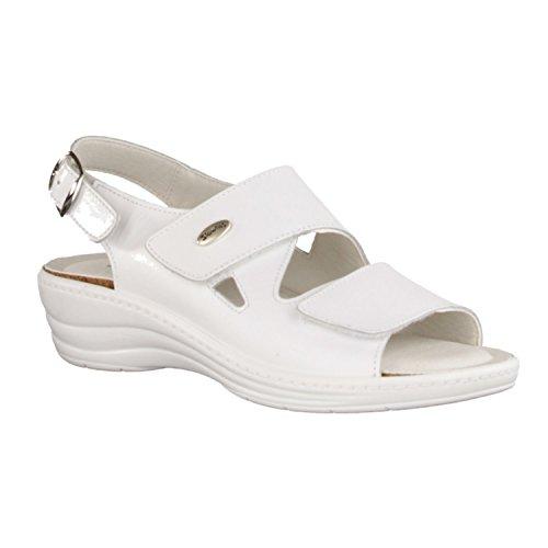 SLOWLIES, Sandali donna Bianco bianco