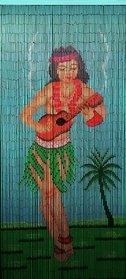 Bamboo 67 5295 Hula Dancer Curtain