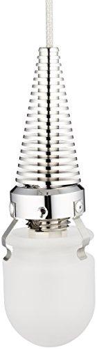 Access Lighting 903UJ-BS Zeta One Light Pendant, Brushed Steel Finish by Access - Access Pendant Steel