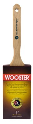 Wooster Brush 4232-3 Alpha Flat Sash Paintbrush, 3-Inch - Quantity 6 [Kitchen] by Wooster