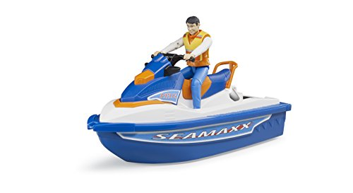 Bruder 63150 - Personal Water Craft con Conductores Vehículo, One ...