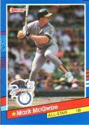 Amazoncom 1991 Donruss Baseball Card 56 Mark Mcgwire