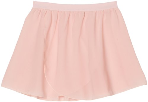 Sansha Little Girls' Serenity Pull-On Skirt, Light pink ,Small(C)/4-6 (Sansha Skirt)