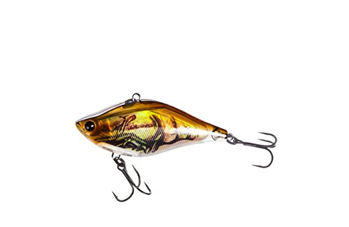 R1321-RBCF 3Dr Vibe, Color, Real Brown Crawfish, 60mm 2-3/8