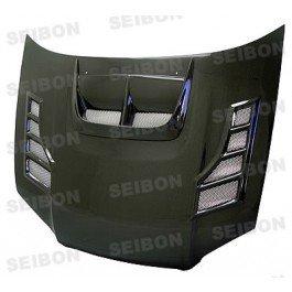 Carbon Seibon Sti Cw (Seibon Carbon Fiber CW-Style Hood Subaru WRX STI 04-05)