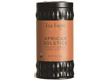 Tea Forte AFRICAN SOLSTICE Loose Leaf Herbal Tea, 3.5 Ounce Tea Tin
