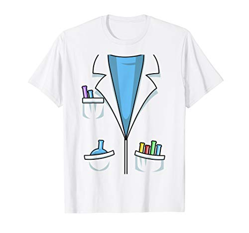 Cute Scientist Halloween Costume Shirt Chemist Science Gift