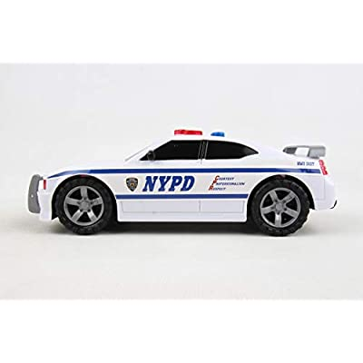 Daron NYPD Police Car with Lights & Sounds: Toys & Games