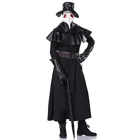 Traje para Hombre Adulto Disfraz de médico de la época de la ...