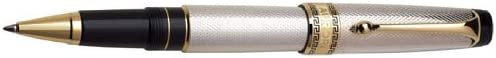 Aurora Optima - Silver Solid Rollerball Pen - AU-976