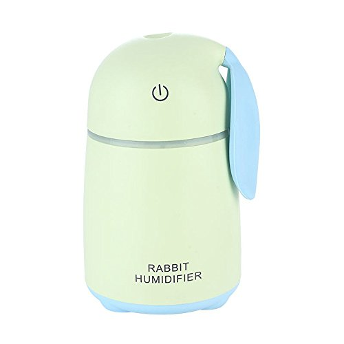 Multi-diffuser diffuser difussers Humidifier Humidifiers cooler vaporiser Creative ultrasonic rabbit mini mute home USB air purification green by Multi-diffuser
