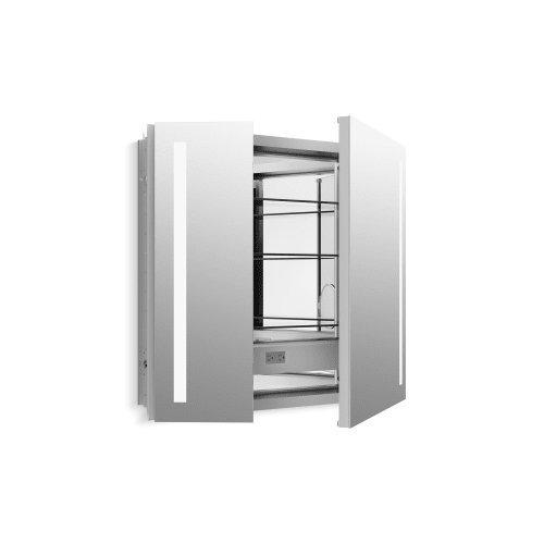 KOHLER 99009-TL-NA Verdera Lighted Medicine Cabinet, Aluminum, 34''x30''