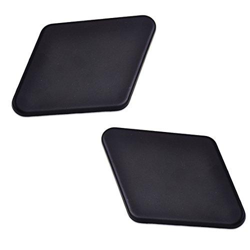 beler 2pcs font bumper headlight washer nozzle jet covers. Black Bedroom Furniture Sets. Home Design Ideas