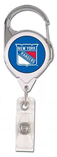 WinCraft Bundle 2 Items: New York Rangers 1 Premium Lanyard and 1 Premium Badge Reel by WinCraft (Image #2)