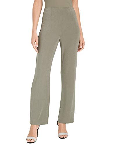 Chico's Women's Travelers Classic No Tummy Pants Size 8 M (1 REG) ()