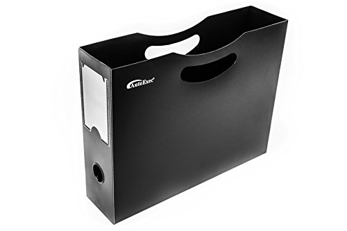 AutoExec AETote-08 Black/Grey File Tote with One Cooler and One Hanging File Holder by AutoExec (Image #20)