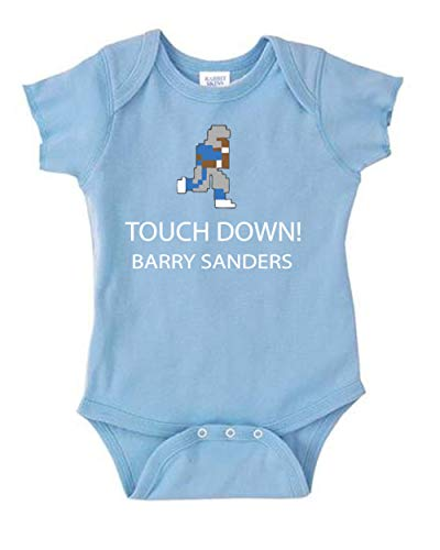 Carolina Detroit Sanders Text Baby 1 Piece