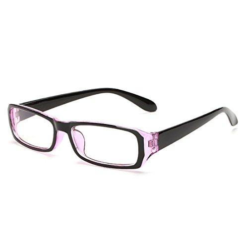 D.King Vintage Inspired Classic Rectangle Glasses Frame Eyewear Clear Lens - Rectangle Frame Glasses