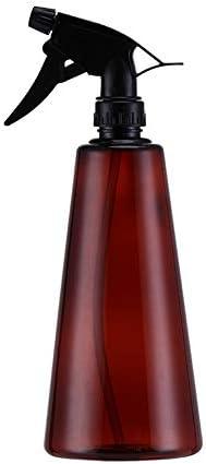 [スポンサー プロダクト]チーアン Tiann スプレーボトル アルコール スプレー容器 詰め替えスプレーボトル 詰替え容器 アルコール用 ボトル 園芸用 掃除用 除菌 霧吹き 噴霧器 遮光 ブラウン 1個