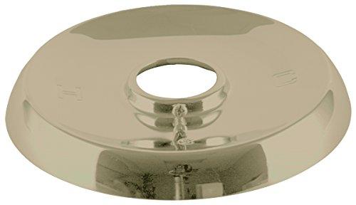 "UPC 039166081202, BrassCraft Mfg Mixet #MLF-5-1/2 PB Single Handle Tub and Shower 5-1/2"" OD Escutcheon - Polished Brass"