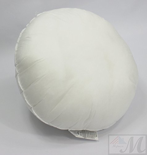 Find Cheap Mybecca 16 inch ROUND pillow Insert Sham Square Form Polyester Premium Hypoallergenic Stu...