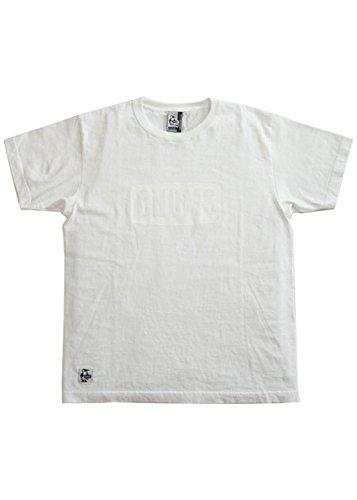 教育者宣教師アクロバット[chums(チャムス)] CHUMS ロゴTシャツ [CH01-1265] (XS, WHITE)